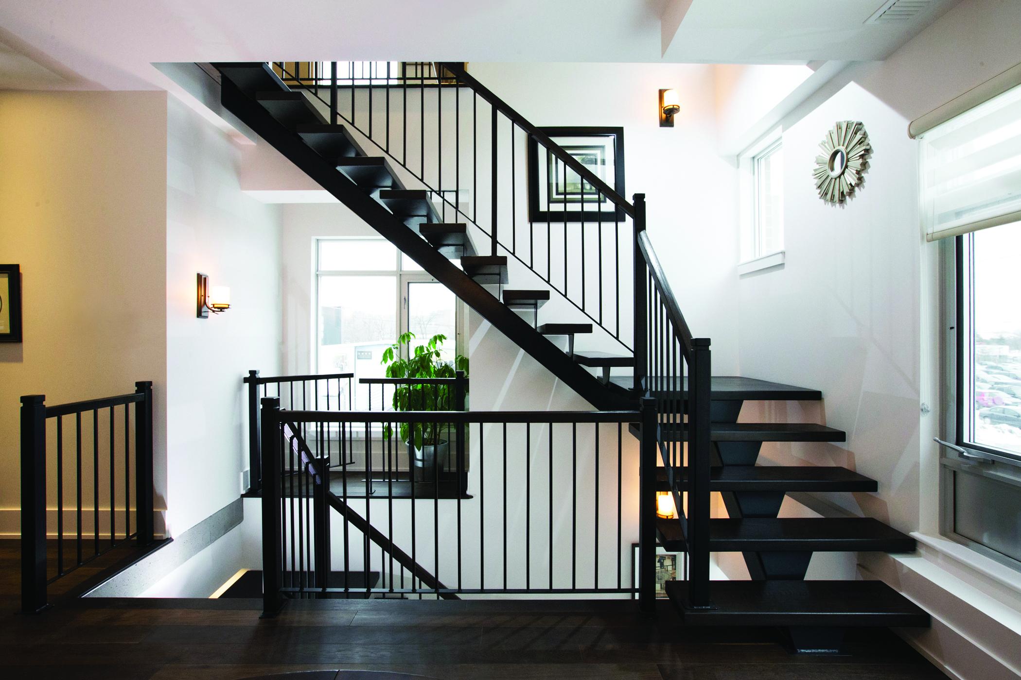 Straight Stairs #128