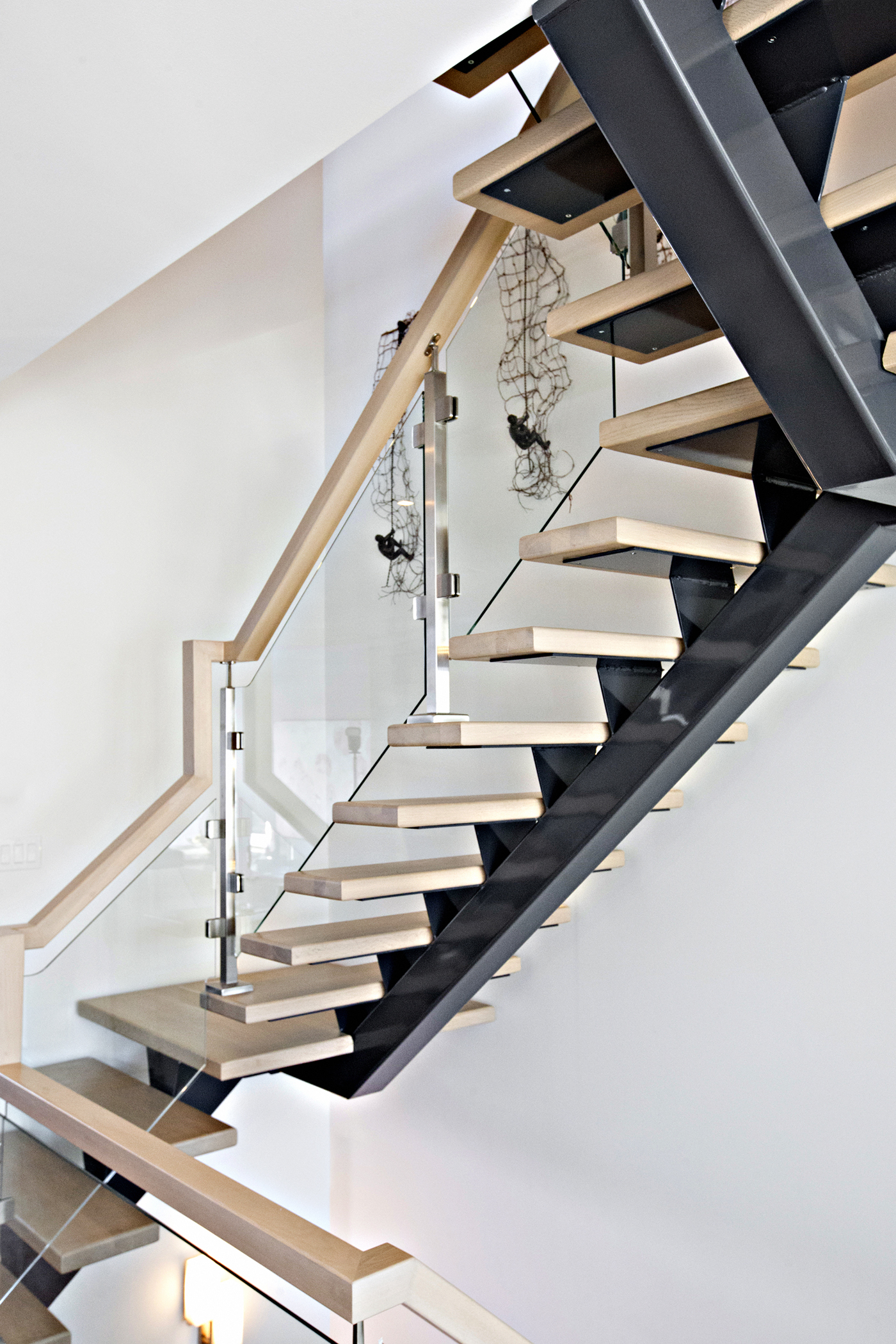Straight Floating Stairs #126