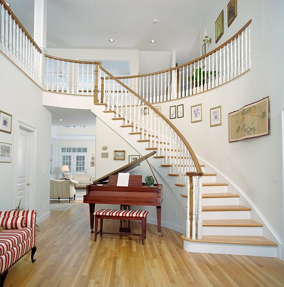 Curved Stairs #109