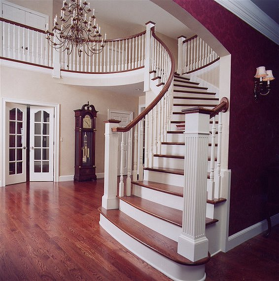 Curved Stairs #108