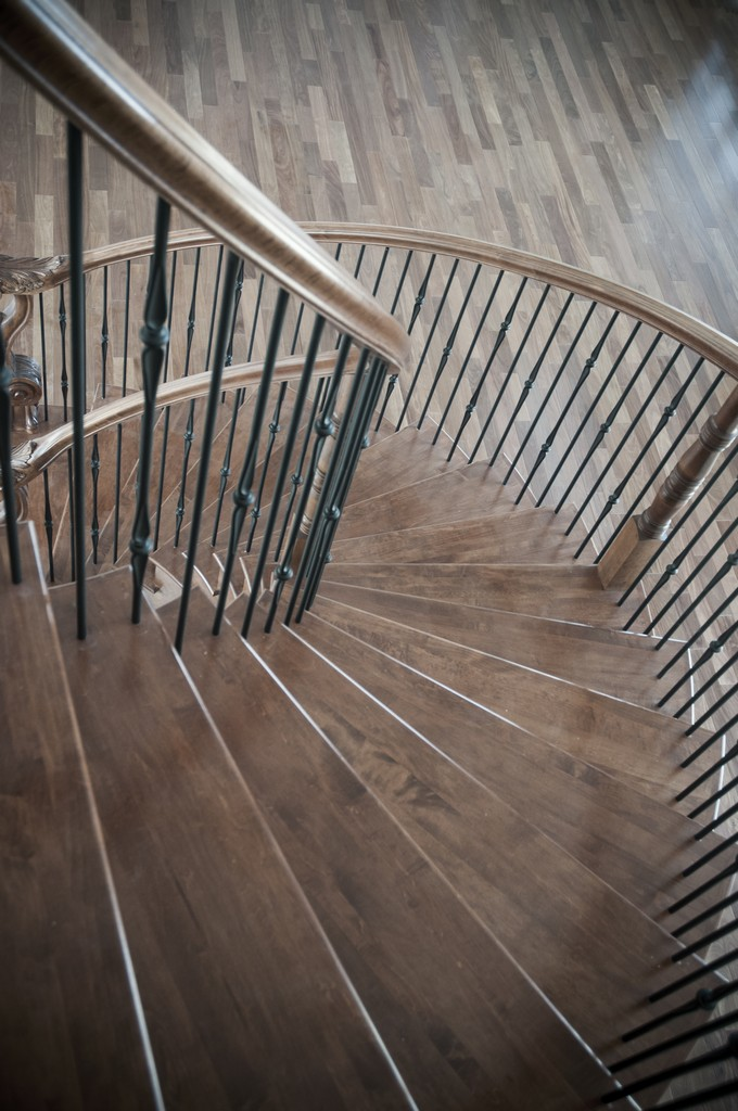 Curved Stair #186