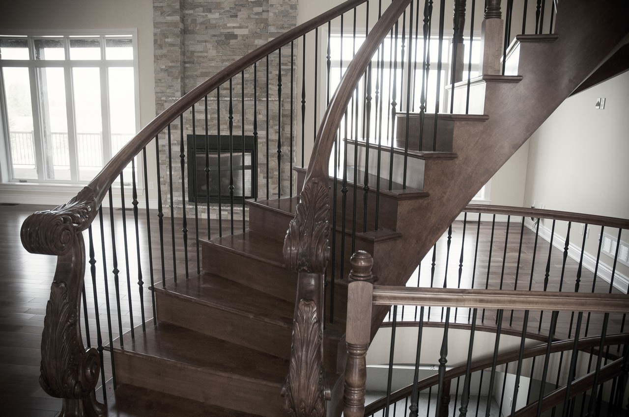 Curved Stair #189