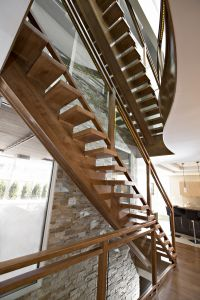 Straight Floating Stairs #133