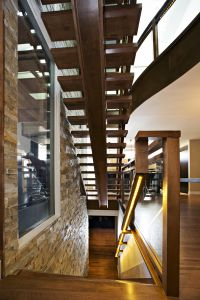 Straight Floating Stairs #132