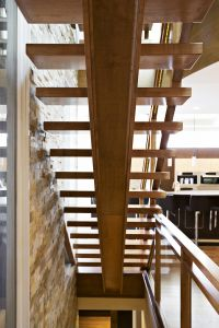 Straight Floating Stairs #131