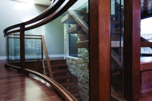 Glass Panel Staircase #120