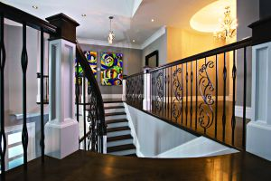 Custom Staircase #153