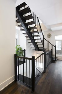 Straight Floating Stairs #129