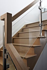 Staircase with Glass Panel #143
