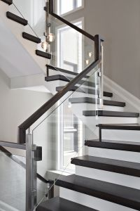 Glass Panel Staircase #116