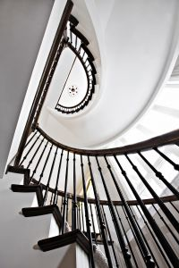 Custom Curved Stairs #139