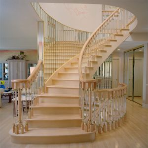 Curved Stairs - Mirrored Walls #161