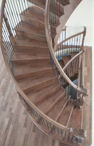 Curved Stair #187