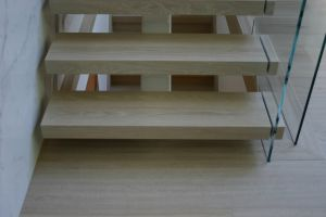 Glass Panel Stairs #197