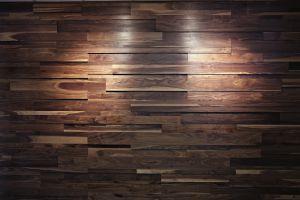 3D Wood Wall Panel #112