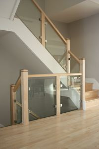 Glass Panel Staircase #103