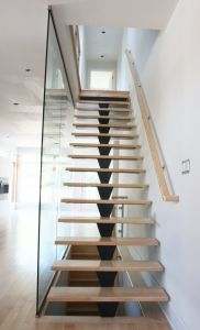Glass Panel Staircase #102