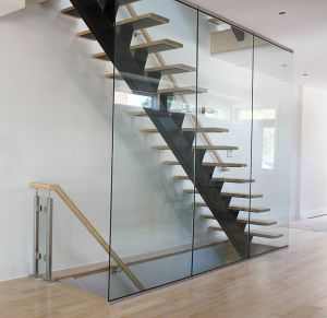 Glass Panel Staircase #101
